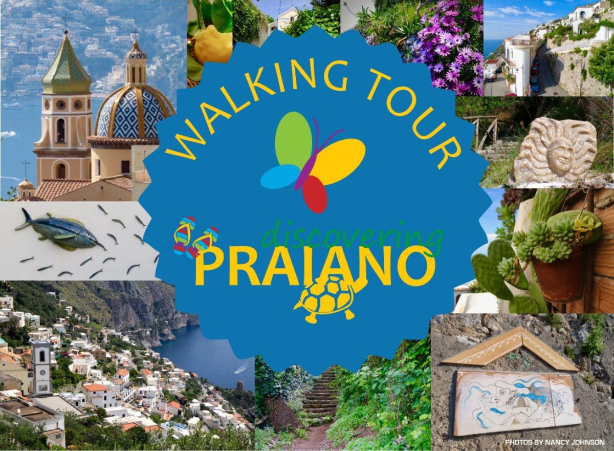 Praiano: Free Walking Tour #1, Area San Luca