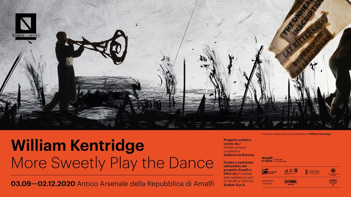 """More Sweetly Play the Dance"" di William Kentridge"